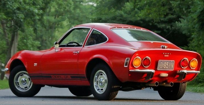 Nicest We Ve Seen 1971 Opel Gt Dream Cars Classic Cars