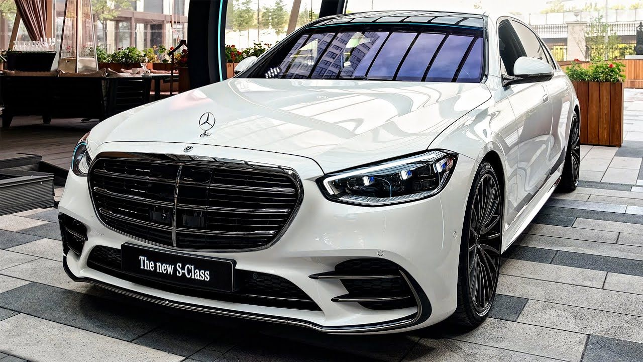 2021 Mercedes S 500 Sound, Interior and Exterior in