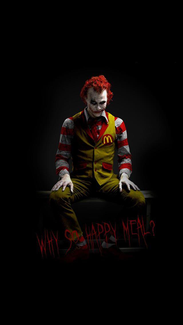 Amazing McDonalds Joker IPhone 5 Wallpapers