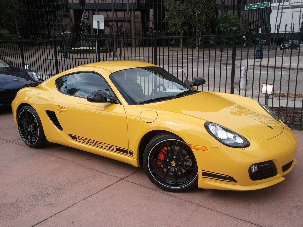 New Speed Yellow Cayman R Porsche Cayman S Porsche Cayman R