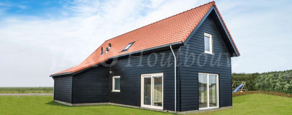 Houten huis bouwen jaro houtbouw huizen pinterest for Kleine huizen bouwen