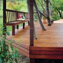 Design an integrated deck for your backyard. | Handyman Magazine | #deck #DIY #landscape