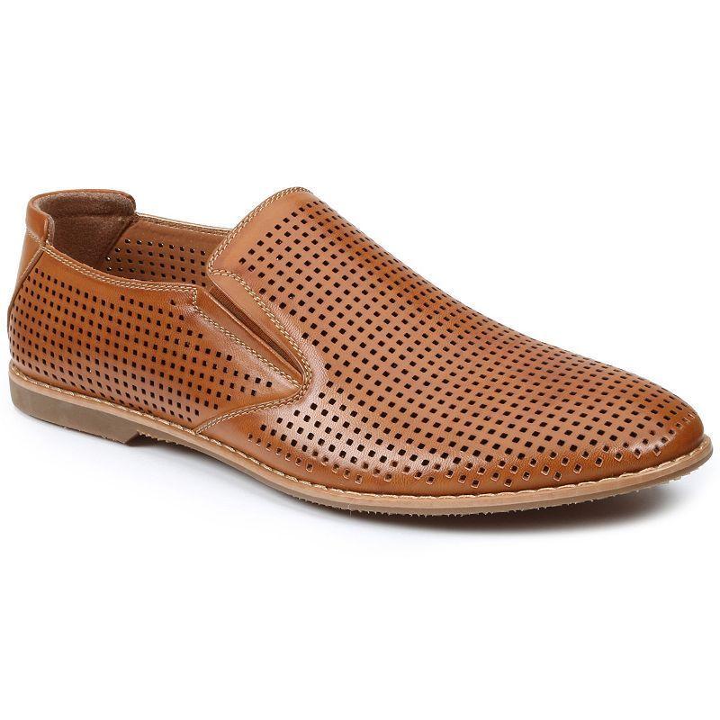 Gbx Tan Mens Krown Loafers