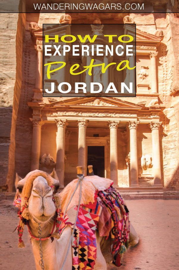 Everything You Need To Know About Visiting Petra With Kids #traveltojordan