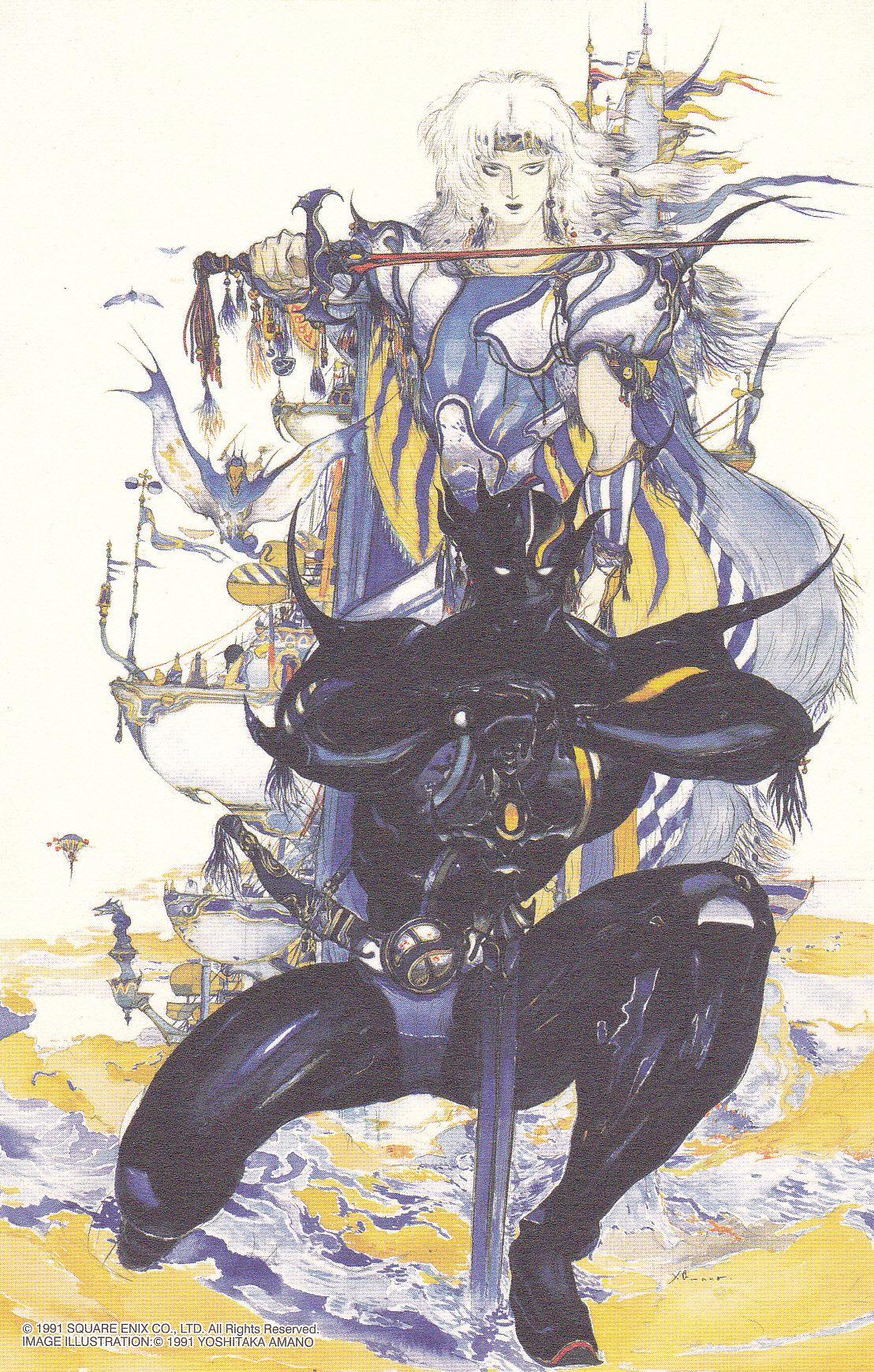 Cecil Harvey From Final Fantasy 4 By Yoshitaka Amano Final Fantasy Tattoo Final Fantasy Iv Final Fantasy Artwork