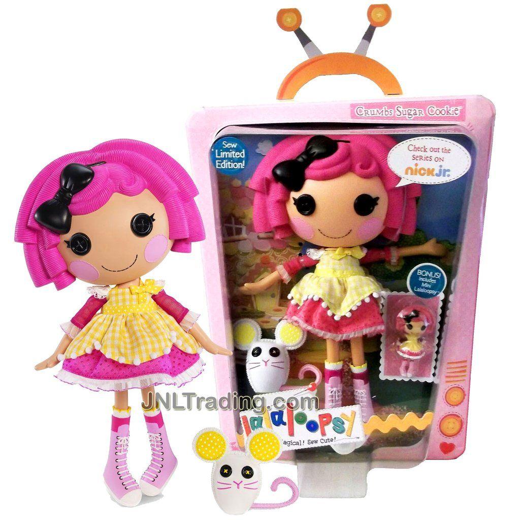 Boxy Girls Pets Buttons Mini Doll