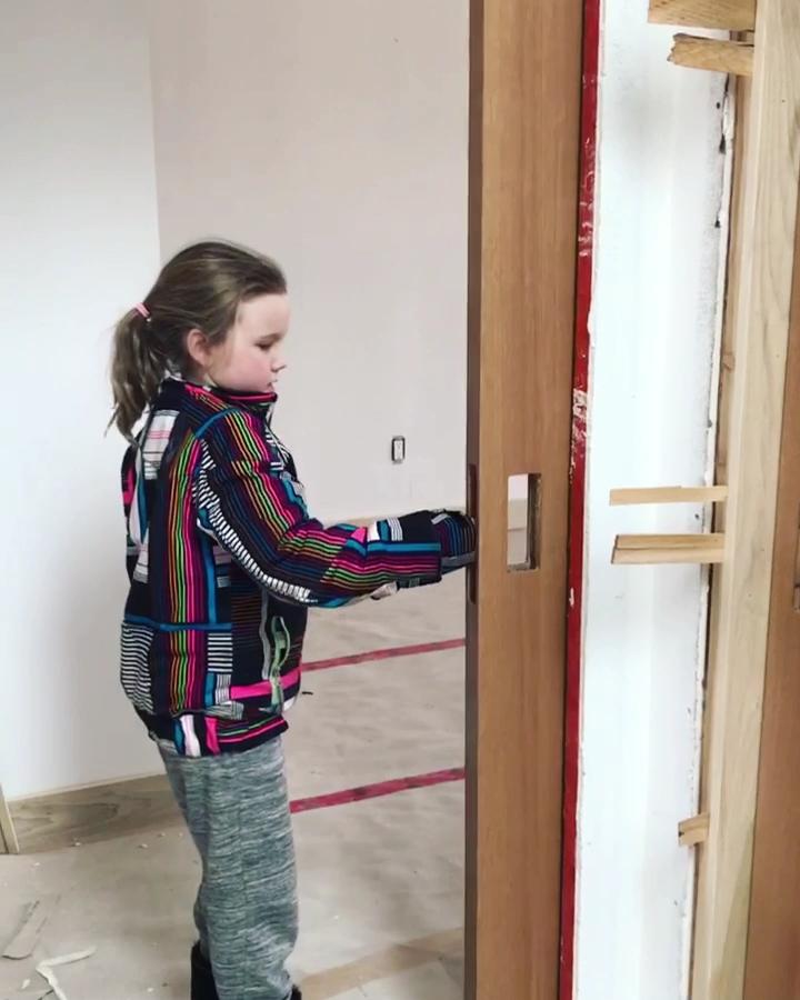 Knc Pocket Door Kits With Catch N Close Slow Closing System In 2020 Pocket Doors Sliding Bathroom Doors Kitchen Sliding Doors