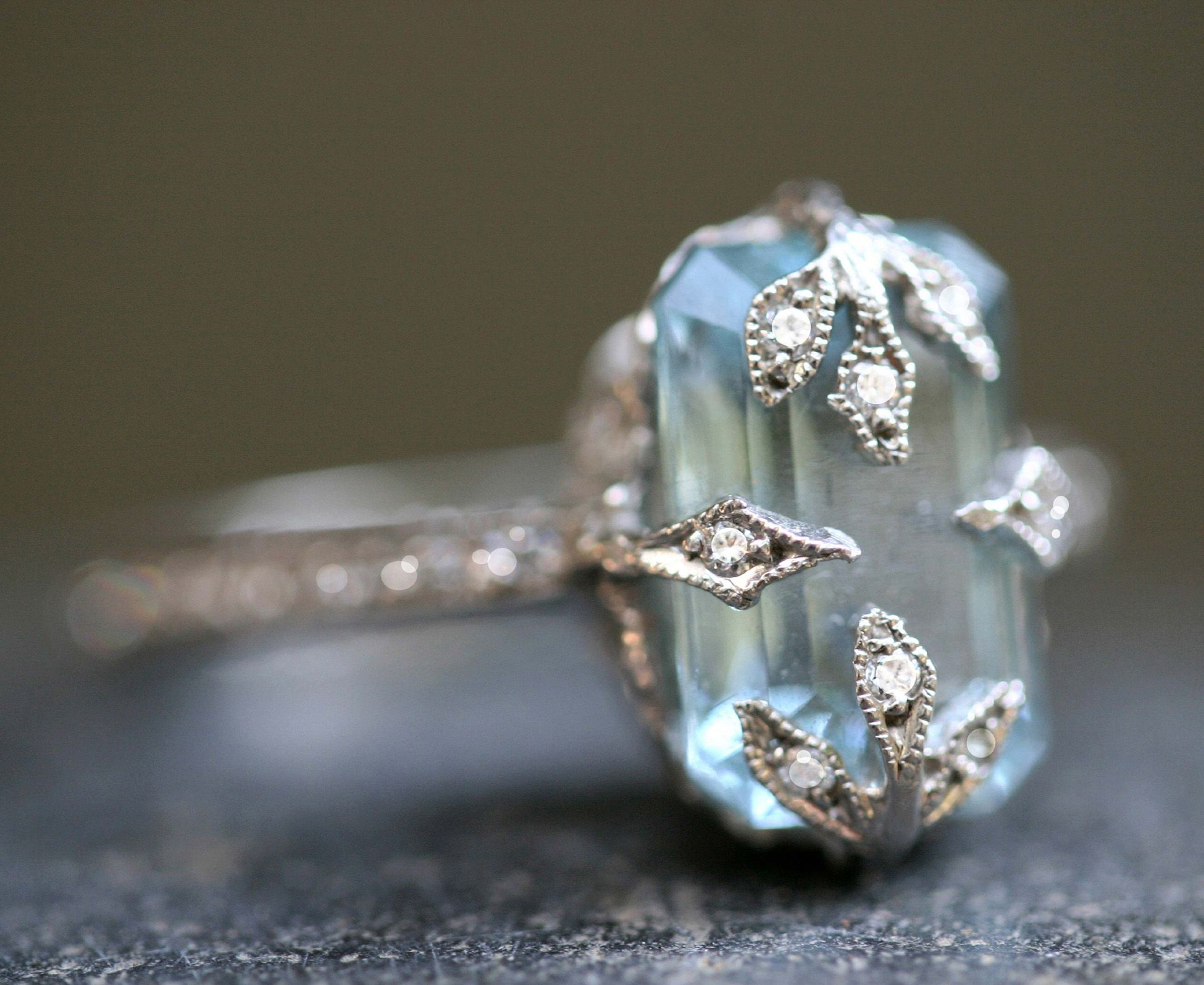 aquamarine ring designers rings life twistonline in love of pin my at cathy platinum waterman diamond