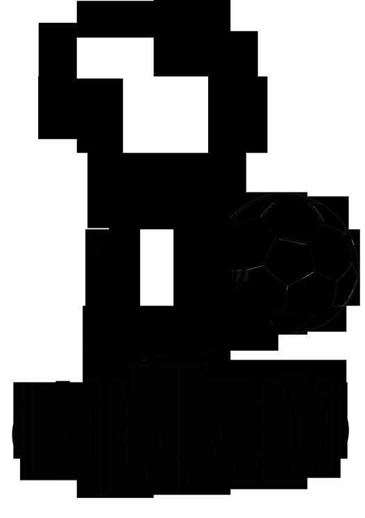 fussballfieber und spaß am sport mit dem malbild fussball