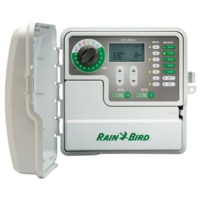 Rain Bird Simple To Set 12 Station Built In Wifi Indoor Outdoor Irrigation Timer Irrigation Timer Rain Bird Sprinkler Timer