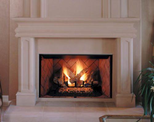 Fmi 36 Mission B Vent Decorative Ng Fireplace At Menards