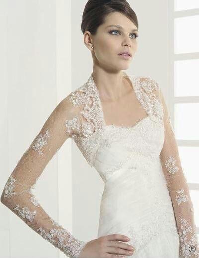 elegante bolero de encaje. | vestidos de novia | pinterest | bolero