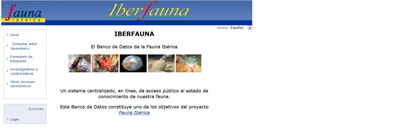 Iberfauna Mantiene Un Servicio De Informacion Sobre La Biodiversidad Zoologica Iberica Facultad De Ciencias Biologicas Universidad De Leon Zoologia