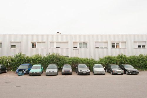 Davanti allo studio di Reiner Schelekter, Neu-Ulm 2015