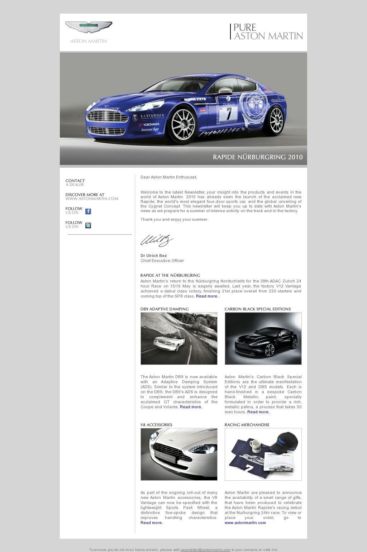 pinbecky chen on car newsletter | pinterest | html email