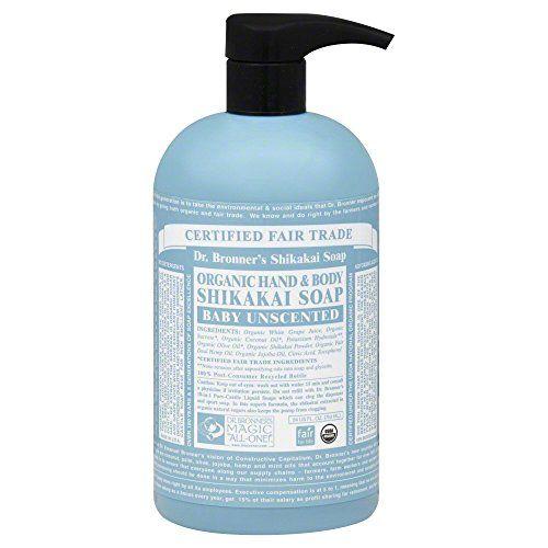 Dr Bronner S Fair Trade Organic Shikakai Hand Body Pump Soap
