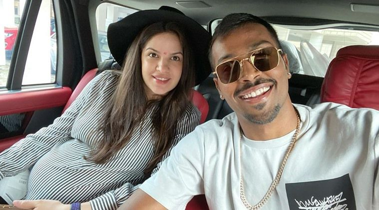 Natasa Stankovic And Hardik Pandya Welcome Child Boy In 2020 Kids Boys Becoming A Father Mother Pictures