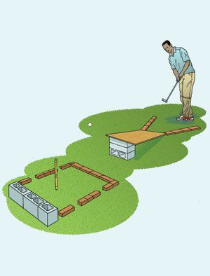 Build A Miniature Golf Course In Your Backyard Miniature Golf Miniature Golf Course Mini Golf