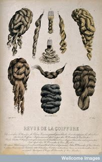Hair Pieces 1880's, For Ashley | Historical