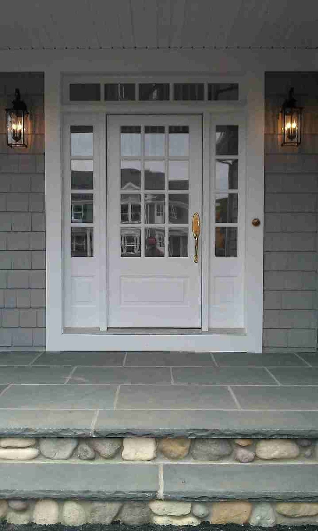 42 Captivating Front Door Patio Design Ideas With Images French Front Doors Exterior Doors House Entrance
