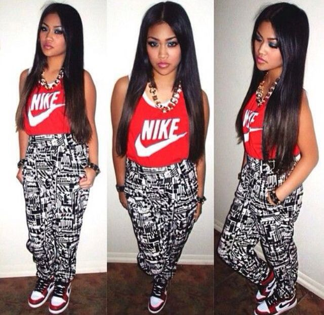 Pin on Girls With Jordan OutFit Swag