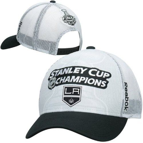 NHL Los Angeles Kings Youth Cap 2014 Stanley Cup Champions Mesh Trucker
