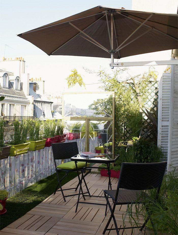 Balcons Et Terrasses Amenagees Terraza Decoration Balcon