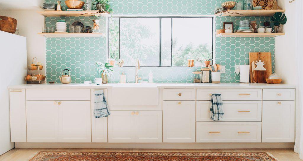 Our Tropical, Bohemian Kitchen Renovation Reveal ...