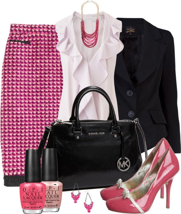 """Pencil It In"" by averbeek on Polyvore"