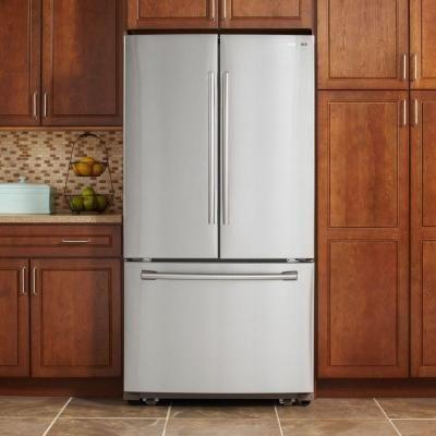 Samsung 255 Cu Ft French Door Refrigerator In Stainless Steel
