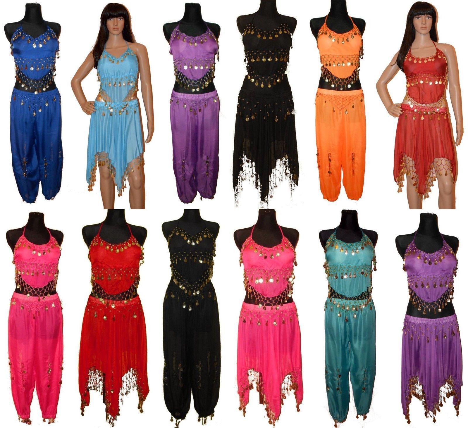 Details Zu Bauchtanz Kostum Belly Dance Komplett Samba Tanz Karneval