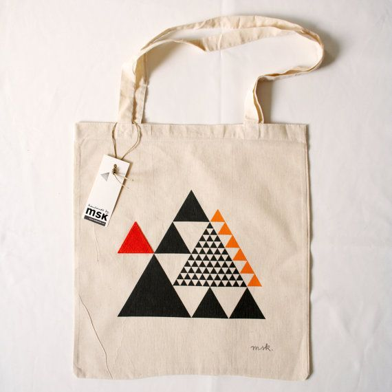 Download Form Follows The Rules Of Geometry Equilateral By Studiomsk 15 00 Printed Tote Bags Printed Bags Diy Tote Bag