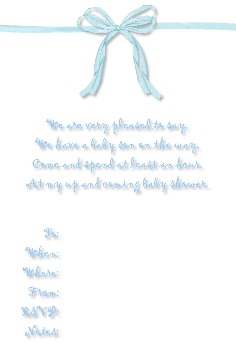 Free Printable Baby Shower Checklist | Baby+shower+invitations+free+ ...