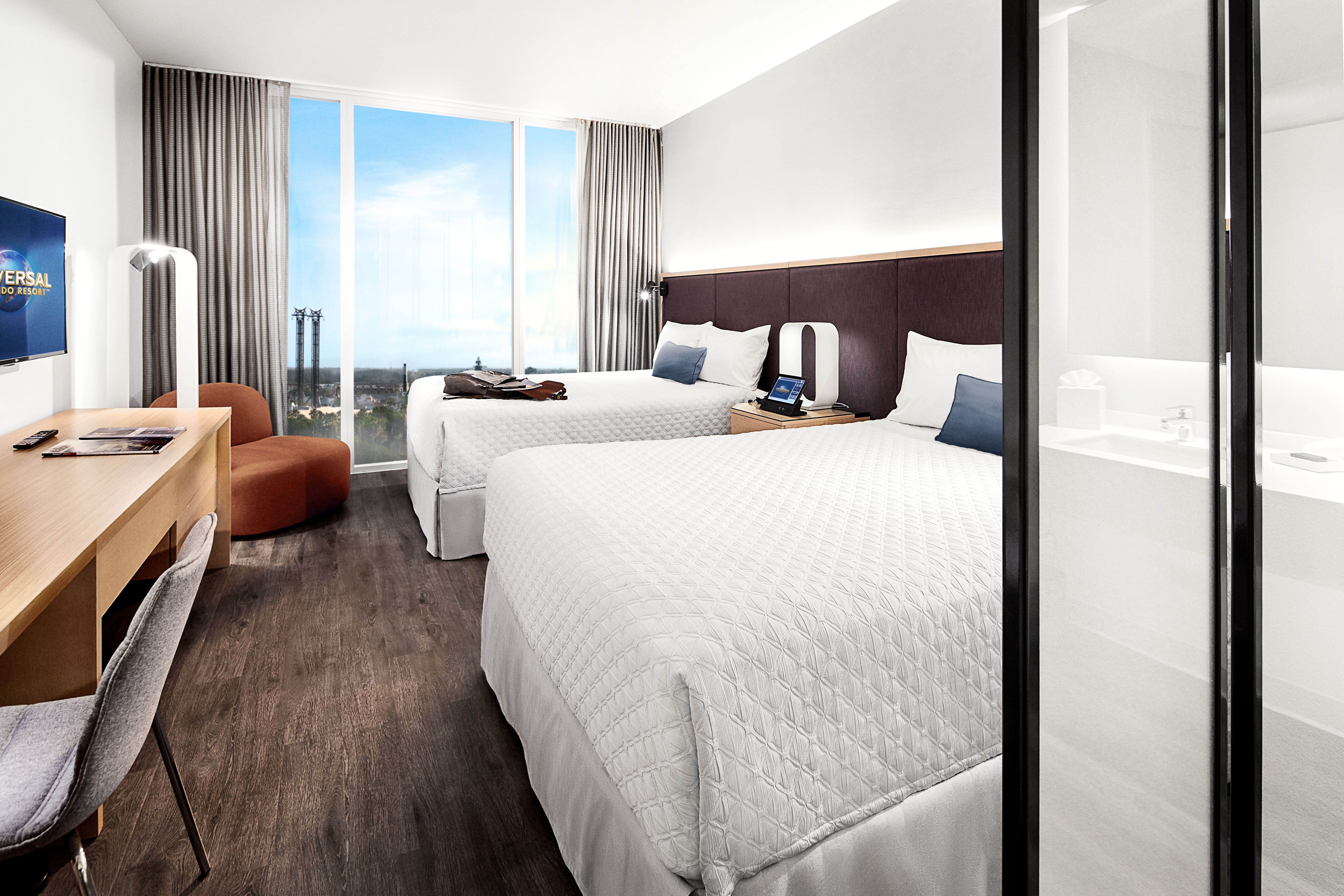 Take a peek behind the design of Universal\'s Aventura Hotel guest ...