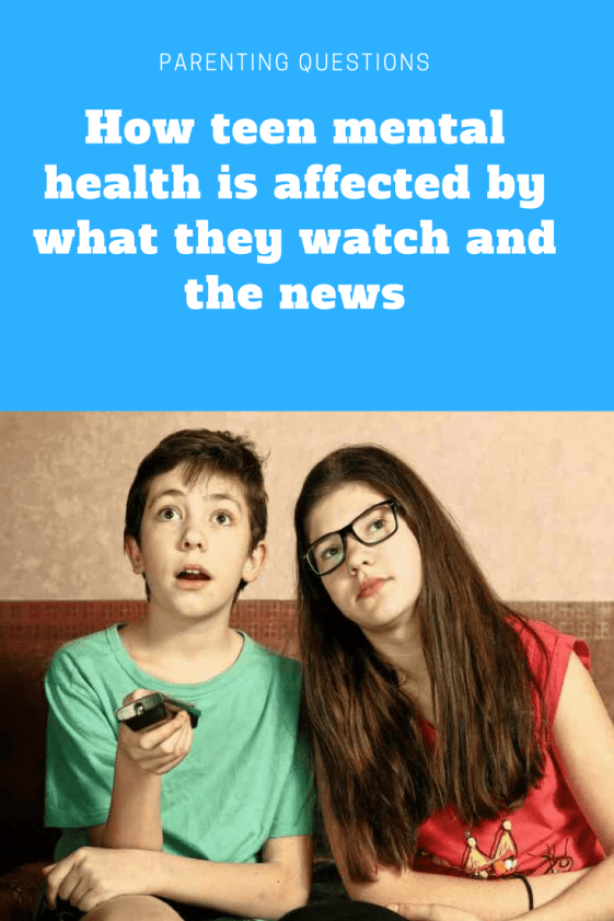 Photo of How teen mental health is affected by what they watch and the news