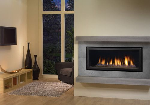 Regency Horizon Hz40 Modern Gas Fireplace Contemporary