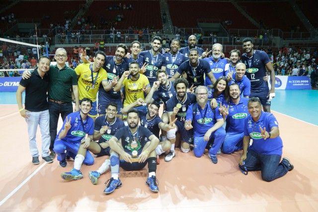 #News  IMBATÍVEL: Sada Cruzeiro vence Brasil Kirin e é Campeão da Supercopa