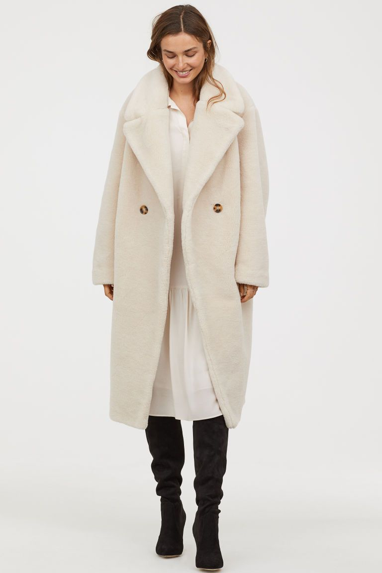 9c110eb4ec73 Faux Fur Coat in 2019