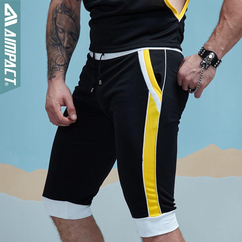 2020 Gymohyeah Summer Men Sweatpants Shorts Zipper Pocket