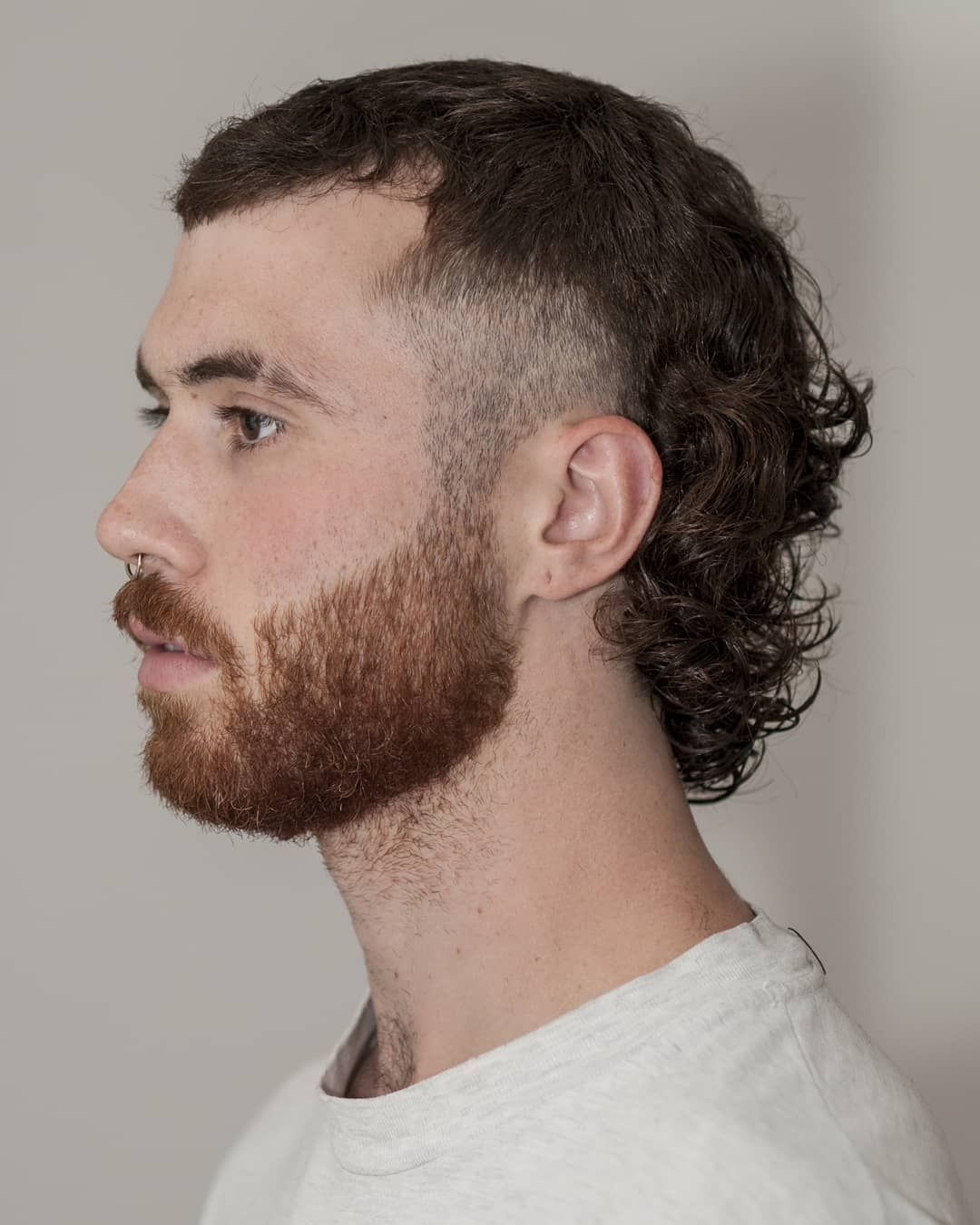 19 Fade Haircuts For Cool Curly Hair 2020 Styles In 2020 Mullet Haircut Mullet Hairstyle Fade Haircut