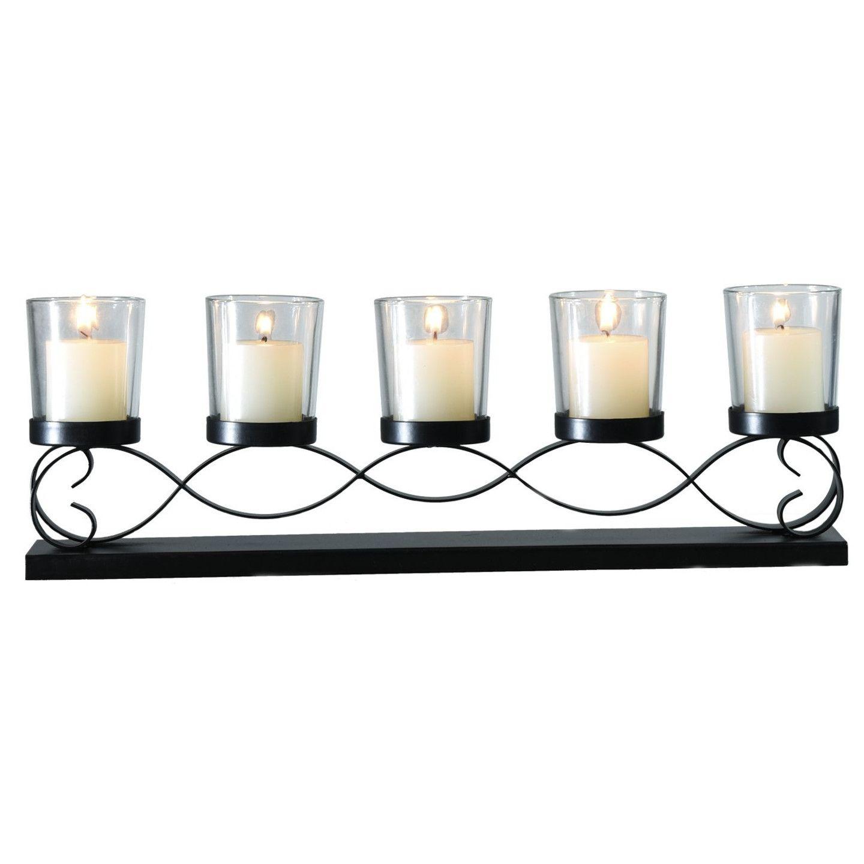 Adeco trading glass candelabra decor items pinterest
