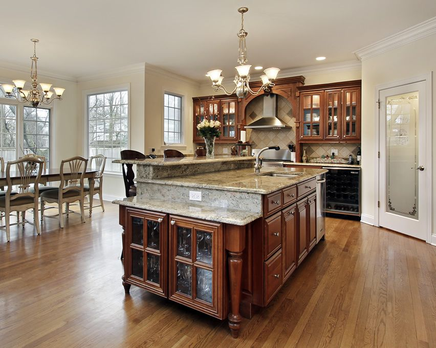 Best 81 Custom Kitchen Island Ideas Beautiful Designs 400 x 300