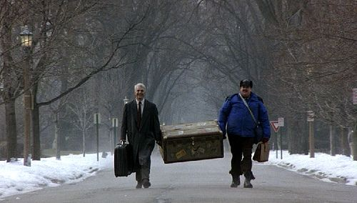 "Steve Martin & John Candy in  ""Planes, Trains & Automobiles"""