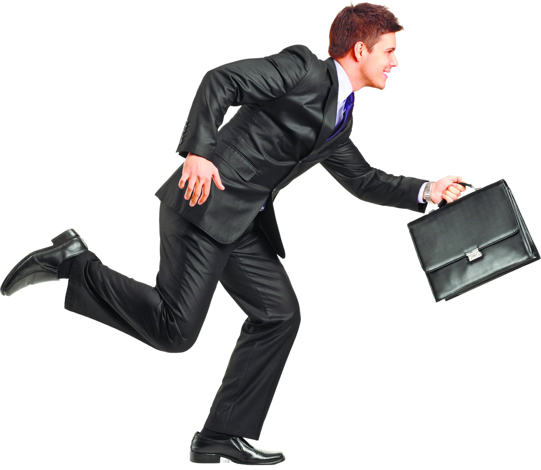Pattern Businessman Transparent Image Running Man Business Man Man