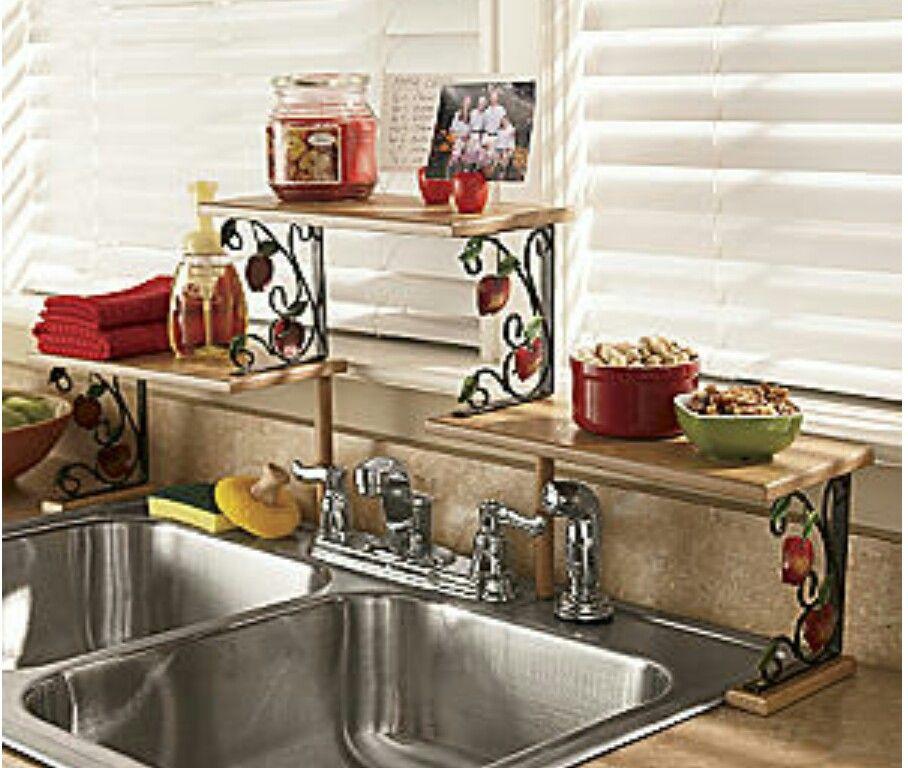 Apple Kitchen Shelf Apple Kitchen Decor Sink Shelf Kitchen Sink Diy
