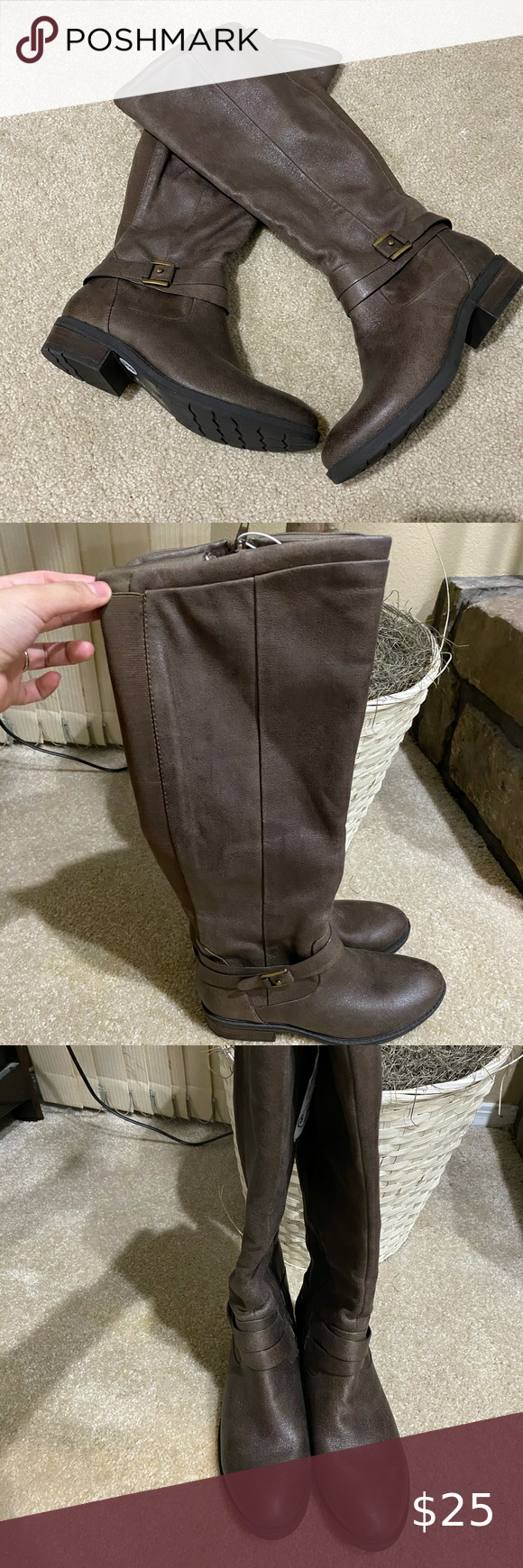 🌸NEW🌸 BARE TRAPS Wide Calf boots in