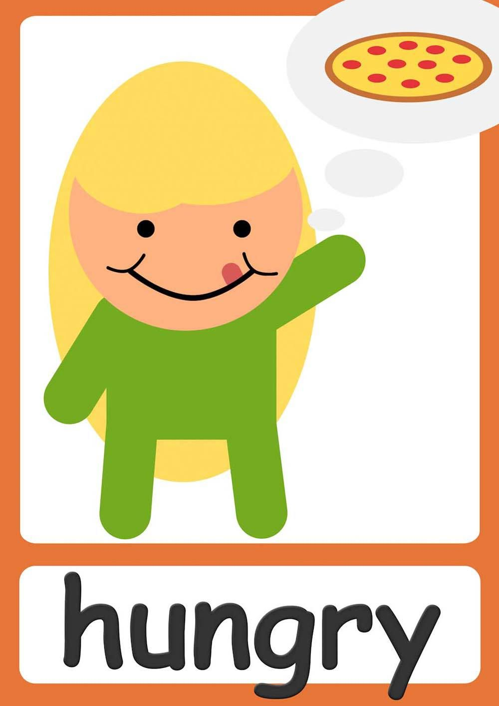 Free feelings flashcards for kindergarten & preschool! Learn ...