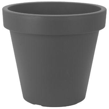 ✔ Kukkaruukku Tummanharmaa 39x39x35 E&K - Mullat, ruukut ja tarvikkeet - Tokmanni