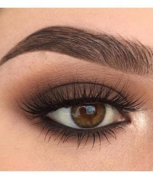Makeup for brown eyes #makeup #brown #eyes #forbrowneyes #EyeMakeupDark #browneyeshadow