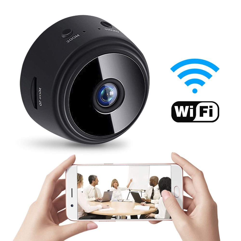 1080P HD Mini Spy IP WIFI Camera Wireless Hidden Home Security DVR Night Vision